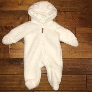 Carters Baby Sherpa Hooded Bunting